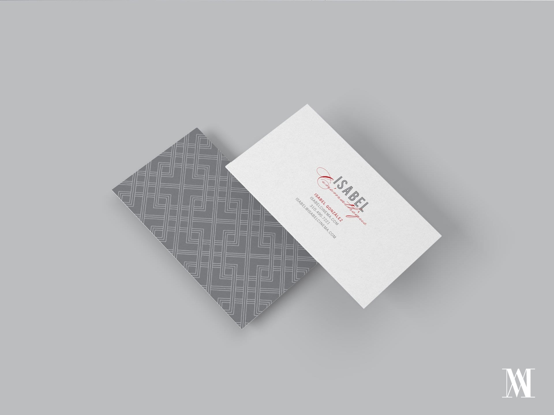 wedding professional branding business cards