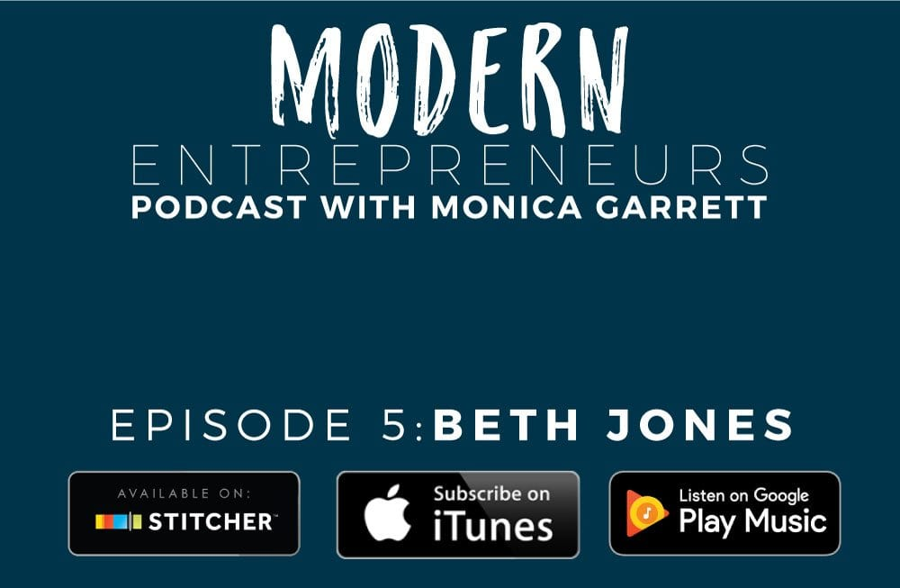 EPISODE 5: FROM FASHION BLOGGER TO CREATIVE ENTREPRENEUR WITH BETH JONES