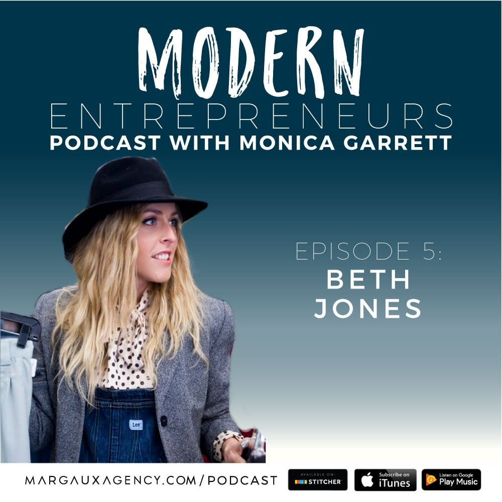 Modern Entrepreneurs PODCAST BETH JONES Episode 5