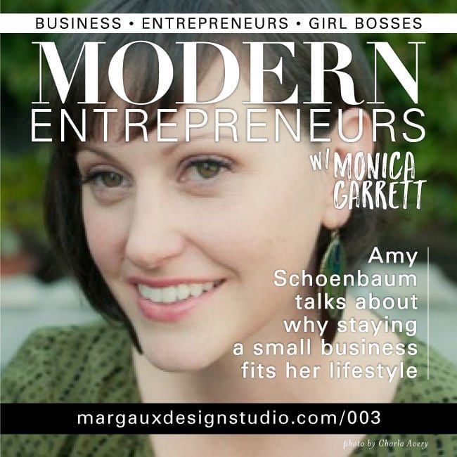 Modern Entrepreneurs podcast with Monica Garrett