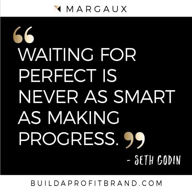 Making Smart Progress – Quote from Seth Godin
