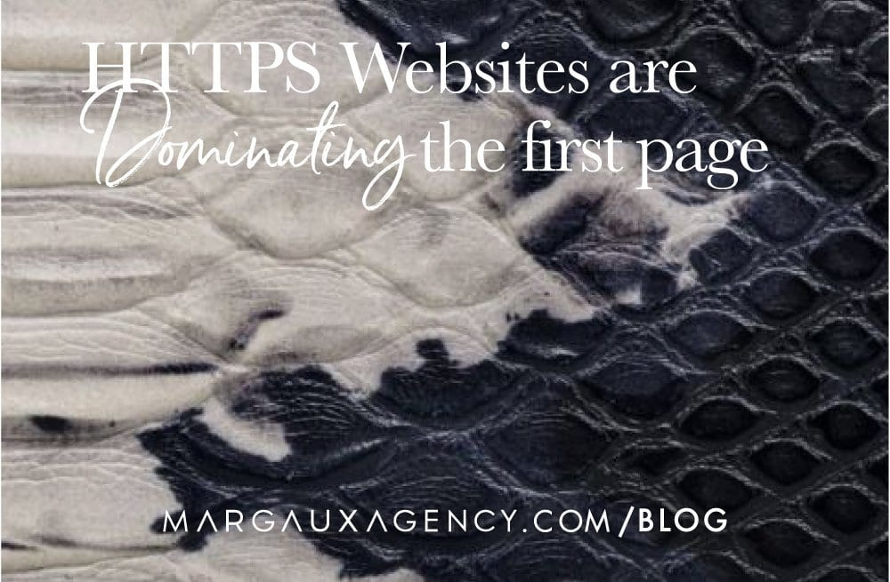 HTTPS Websites Are Dominating the First Page