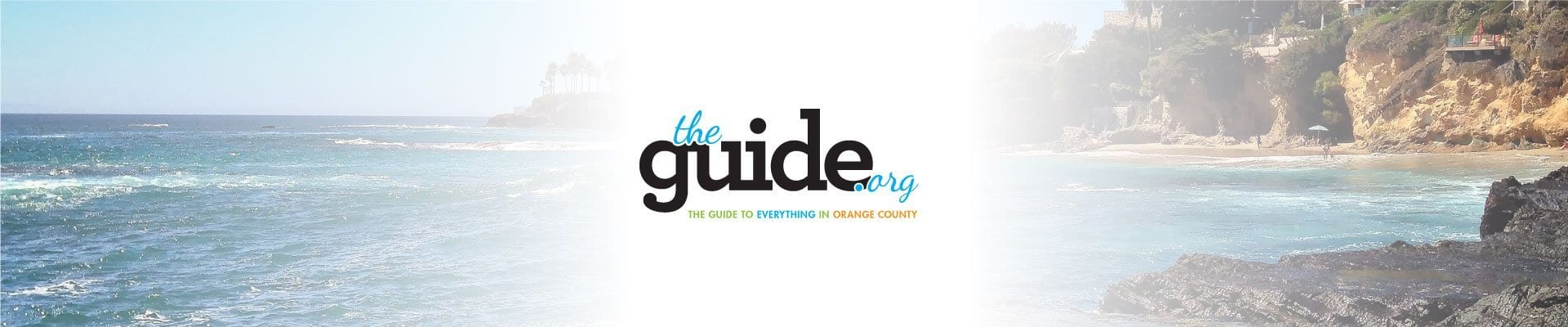 Orange County City guide logo design
