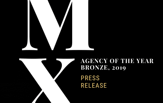 Press Release Agency of the Year Bronze Award